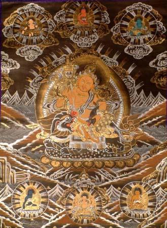 la pittura tradizionale tibetana: le Thangka