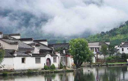 Case Tradizionali Cinesi : I villaggi tradizionali nel sud della provincia dellanhui radio