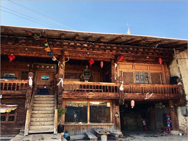 Case Tradizionali Cinesi : Le vecchie case tibetane dellantica città di dukezong radio cina